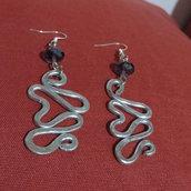 orecchini tecnica wire