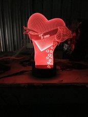 Lampada 3d illusion