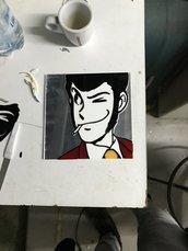 Quadro plexiglass Lupin 3