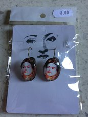 Orecchini Frida Kahlo