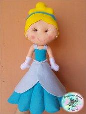 Principessa Cenerentola in pannolenci