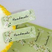 "Etichette 36 pezzi set ""Hand made"""