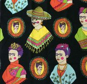 Stoffa Frida Kahlo  - (codice 71) -