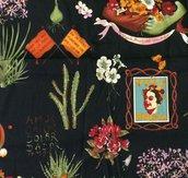 Stoffa Frida Kahlo  - (codice 74) -