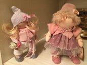 Idea regalo decoro ,piccola bambolina .