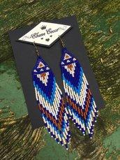 Orecchini di perline , stile etnico