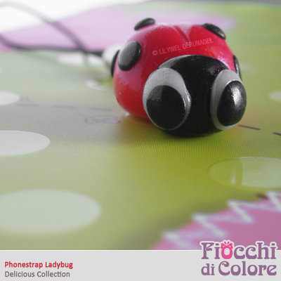 Ladybug Phonestrap