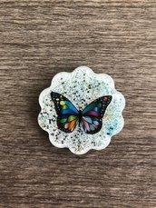 Calamita farfalla colorata