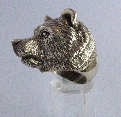 Anello Orso in bronzo