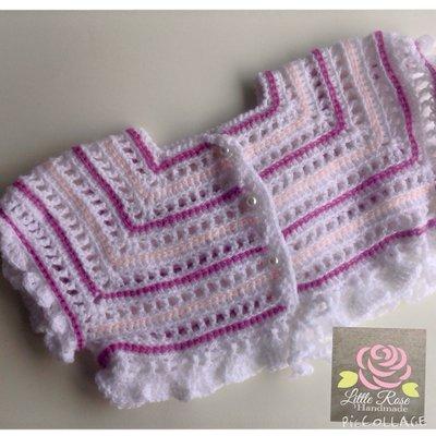 Crochet per bambina by Little Rose Handmade