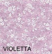 Pannolenci stampato sambuco color violetta 20cm x 180cm