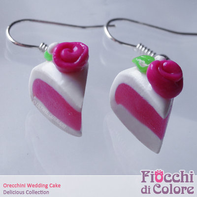 Wedding Cake Earrings