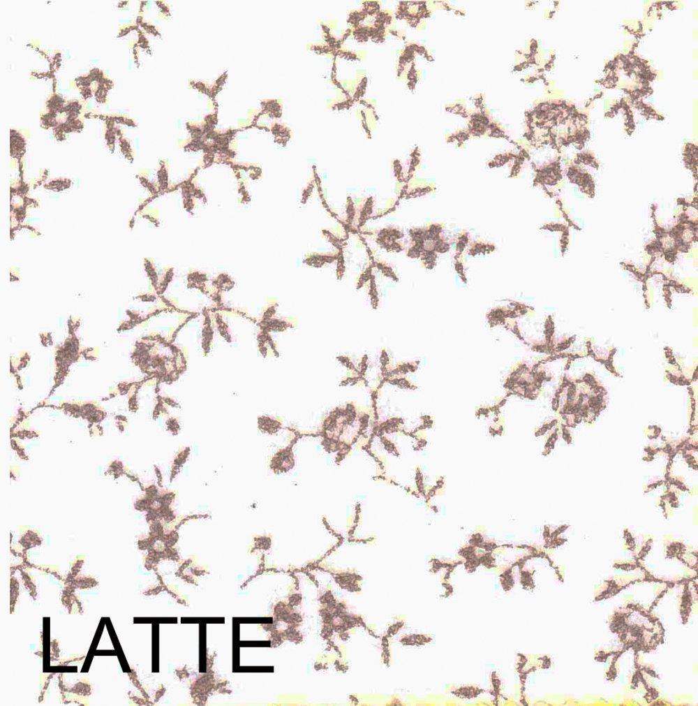 Pannolenci stampato sambuco color latte 20cm x 180cm