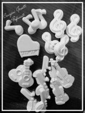 Gessetti realizzati in polvere di ceramica