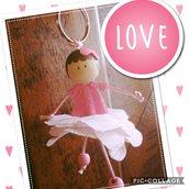 Ballerina portachiavi  bomboniera