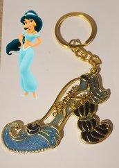Portachiavi scarpetta principessa Jasmine
