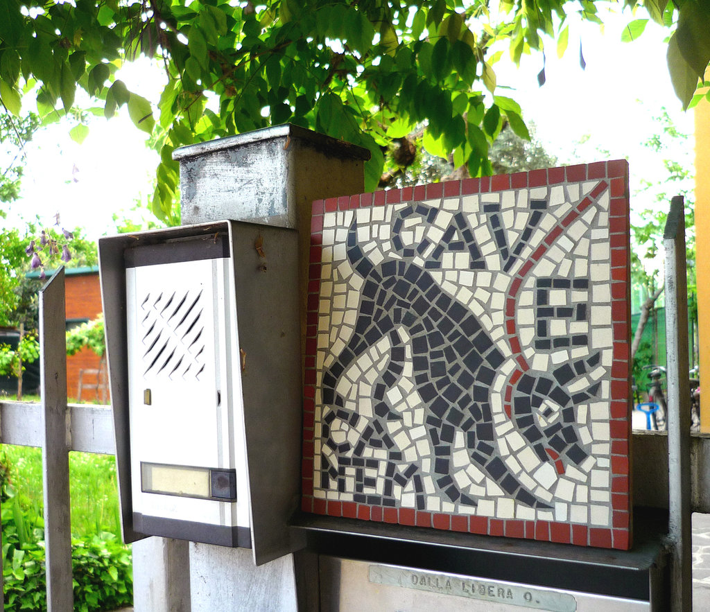 Kit mosaico fai da te - CAVE CANEM