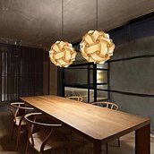 Lampadario design moderno fatto a mano