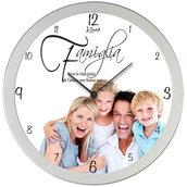 Orologio da parete personalizzato Foto nome frase idea regalo