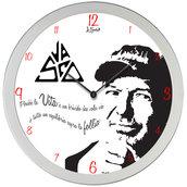 Orologio da parete Vasco Rossi perchè la vita è un brivido che vola via