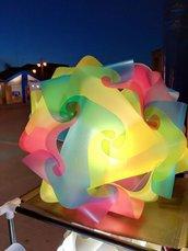 Lampadario multicolor 40 cm