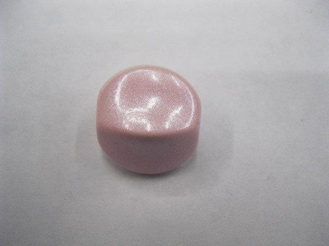 Confetto 4 facce in resina rosa