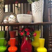 Vasi, in vetro di Murano, ideali per arredamenti e parti di ricambio per lampadari e specchi Veneziani