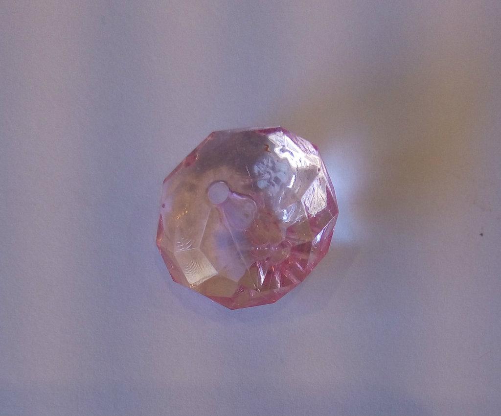 Cipollina in Lucite Rosa Trasparente