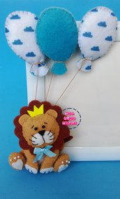 Cornice porta foto bimbo leone