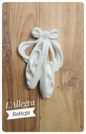 Scarpette da Ballerina in gesso profumato