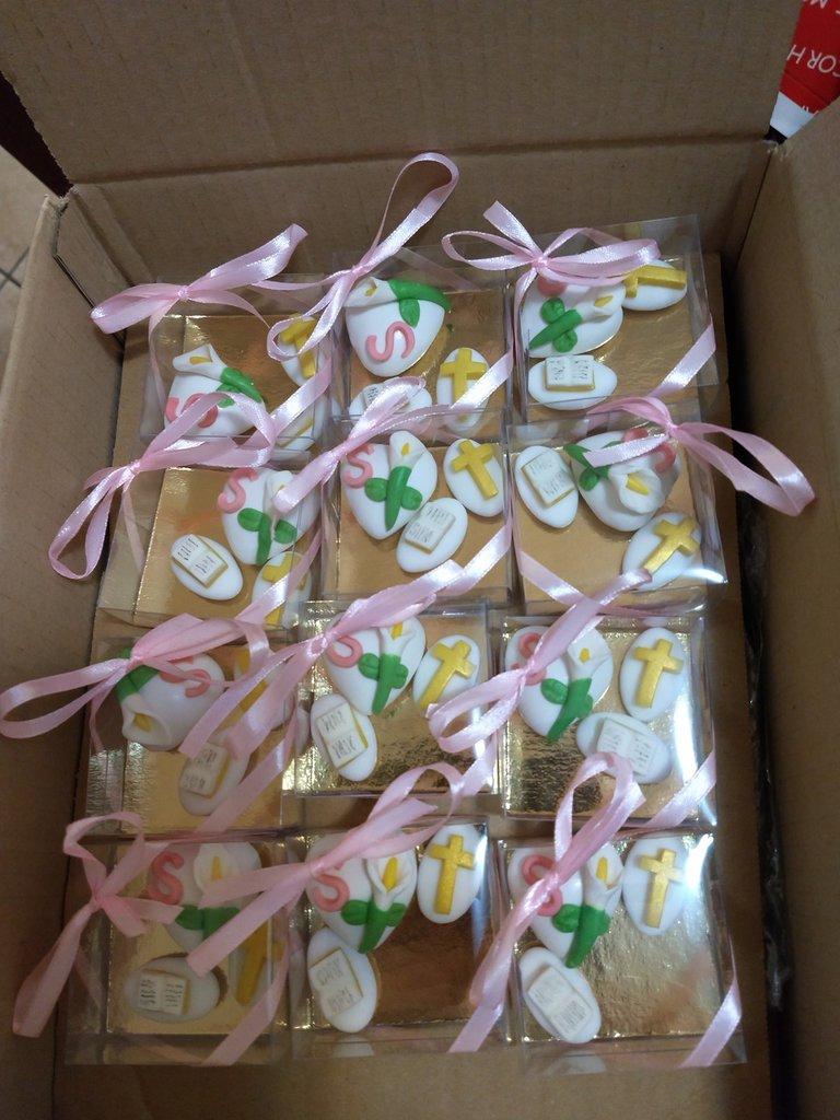 confetti decorati bomboniera comunione