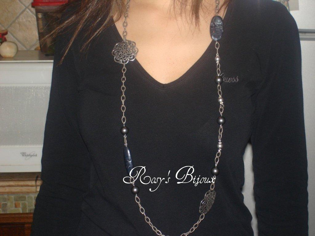 bellissima collana artigianale