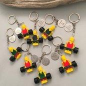 Lego CrossFit, spilla o portachiavi