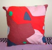 Federa fantasia cotone per cuscino 40x40 - fatto a mano