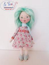 Bambola 35 cm, regalo bambina, morbida bambola Le Tusì Bambole di stoffa fatta a mano