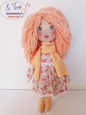 Bambola 32 cm, Le Tusì Bambole di stoffa fatte a mano, regalo bambina, bambola collezione