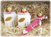 Bomboniera primo compleanno bimba, apine, segnalibro, calamita, bomboniera comunione, bomboniera battesimo, segnaposto