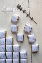 cioccolatini cremini personalizzabili per battesimi e eventi vari