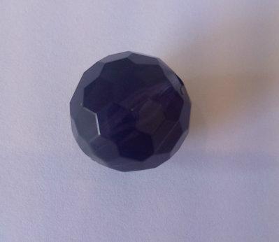 Sfera In Resina Sfaccettata Blu Opal 20mm