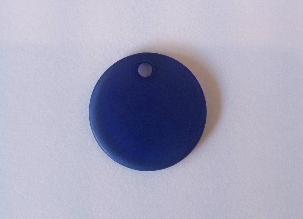 Cialda Piatta Blu Piccola