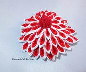 Fiore kanzashi per capelli 23