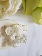 Stampo elefantino per gesso