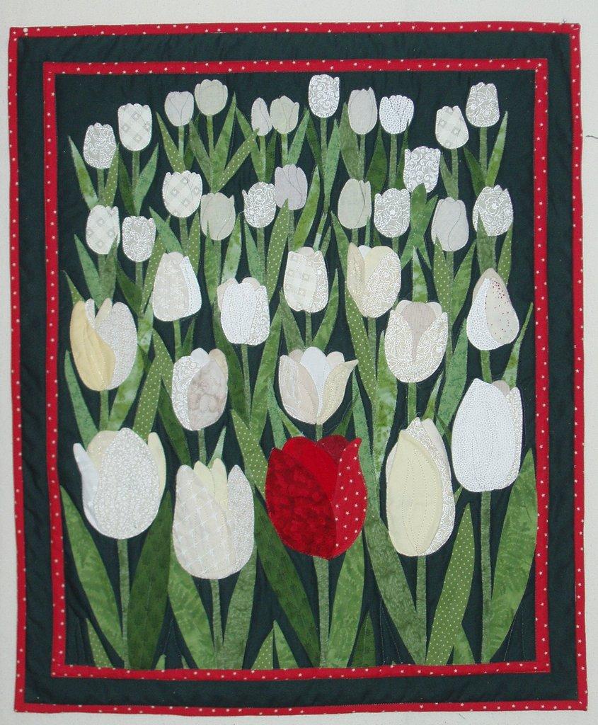 Quadro morbido tulipani