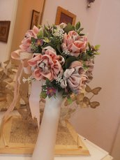 "BOUQUET  "" ROSE   Rosa Stoffa"""