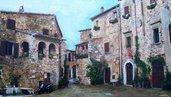 Dipinto di Montemerano