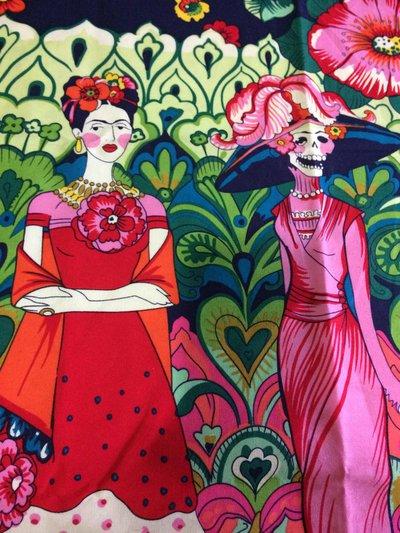 Stoffa Frida Kahlo  - (codice 94) - 105x80