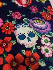 Stoffa Frida Kahlo  - (codice 96) - 50x63