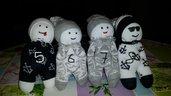 pupazzi bambole bambini neonati riciclo creativo calze