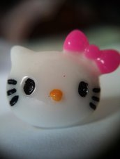 Tappo antipolvere per jack cuffie 3.5mm universale decorato con gattino kitty