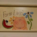 VASSOIO FARM LIVIN' - COUNTRY
